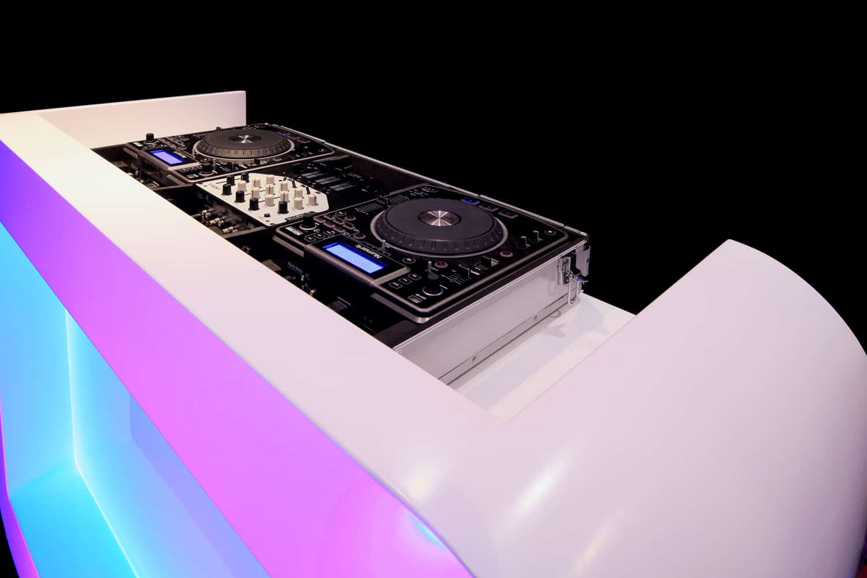 Moderne DJ booth