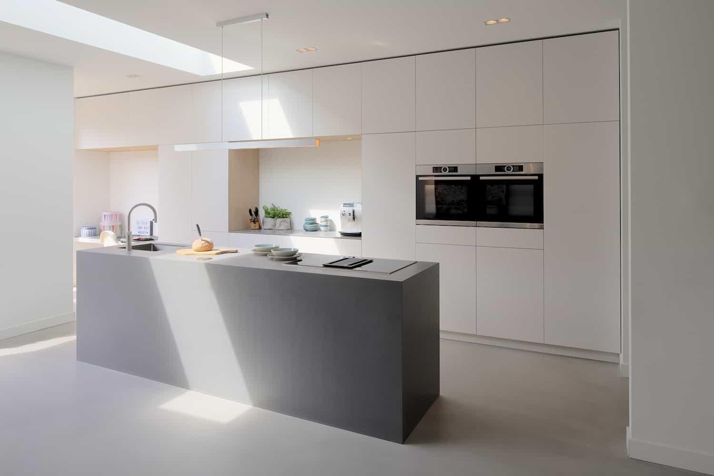 Keuken met kookeiland