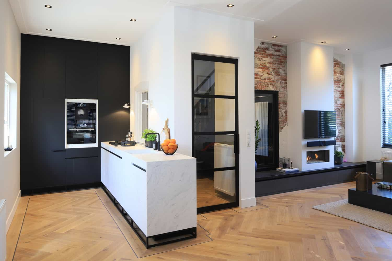 Woonkamer en keuken op maat