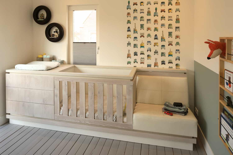 bed en kast voor kinderkamer
