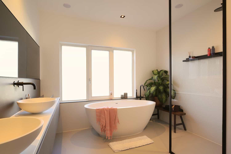 Stijlvolle badkamer Noord-Holland